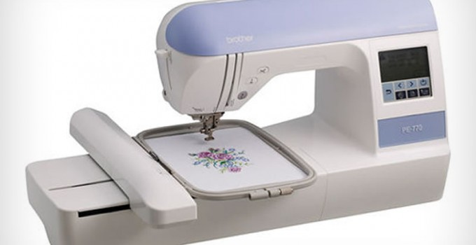 e100 embroidery machine