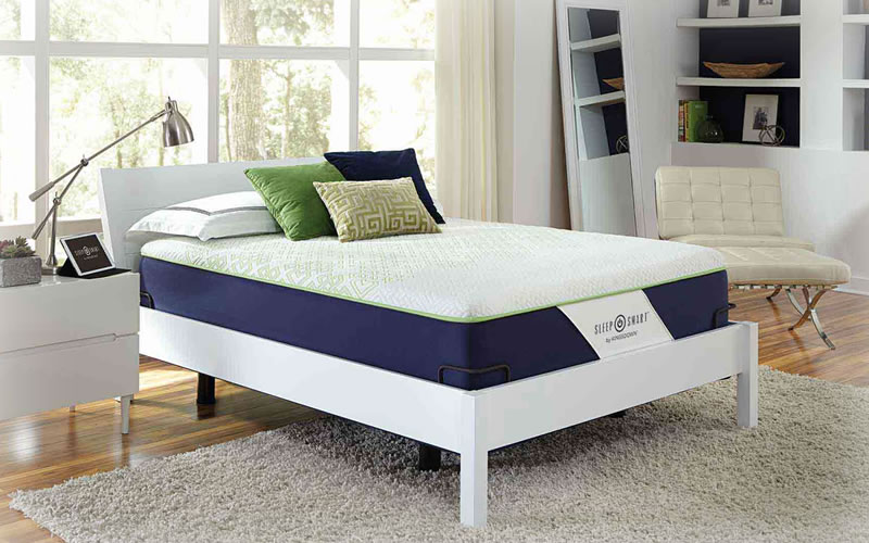 Cheapest Queen Size Slumber Solutions Highloft Eco Cool 2-inch Best Memory Foam Bed Mattress Topper With PostureFoam Pads...