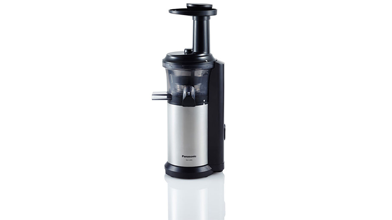 The Best Slow Juicer 2016 : Panasonic MJ-L500 Slow Juicer Review Highly Efficient Juicing But Has Limited Options ...