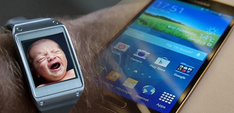 Galaxy S5 Hidden Baby Crying Detector