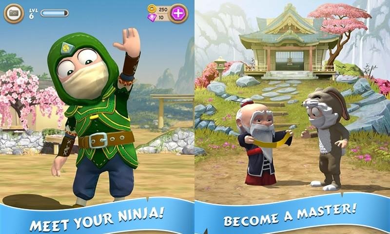 How To Play Clumsy Ninja on Laptop Computer or Windows Tablet