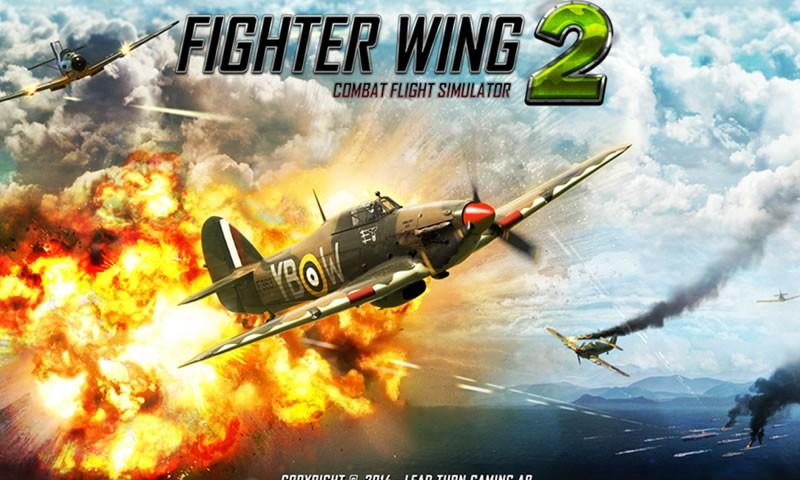 How To Play FighterWing 2 Flight Simulator on Laptop Computer or Windows Tablet
