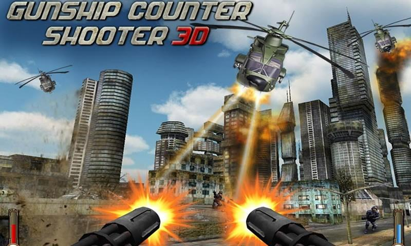 How To Play Gunship Counter Shooter 3D on Laptop Computer or Windows Tablet