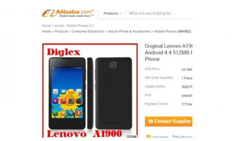 Lenovo A1900: A cost-effective smartphone for sale online.