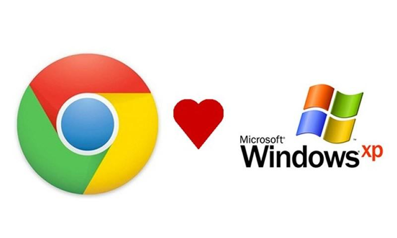 The support of Google for Windows XP is due before 2015 ends.