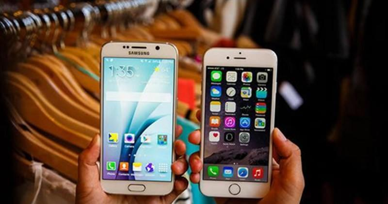 iPhone 6 and Galaxy S6 differ from one another.