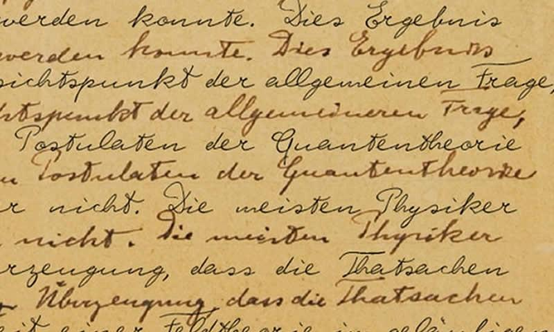 A Genius Handwriting Is Now A Font