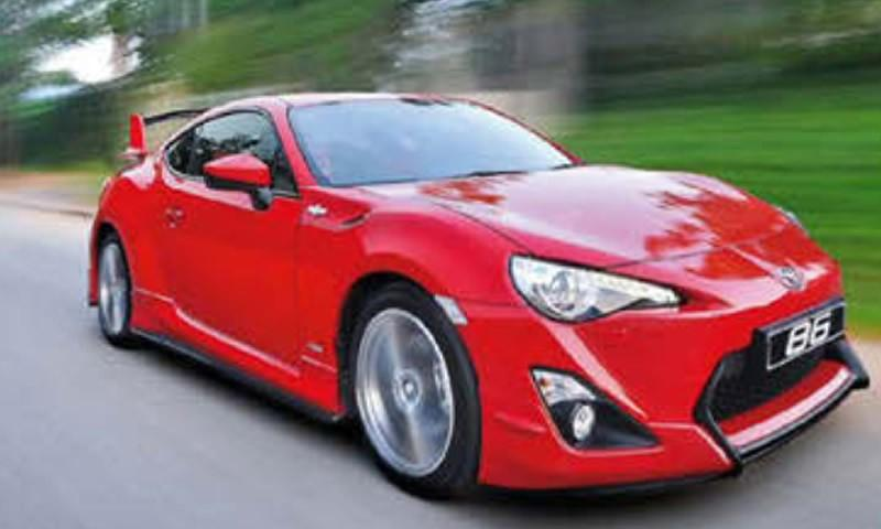 A Stunning Toyota 86 Limited Edition
