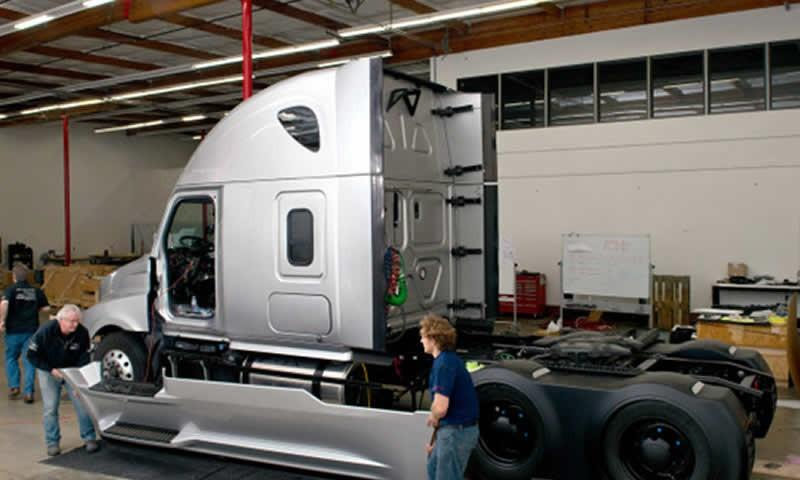 First is the self-driving cars, now the world has its first self-driving truck.