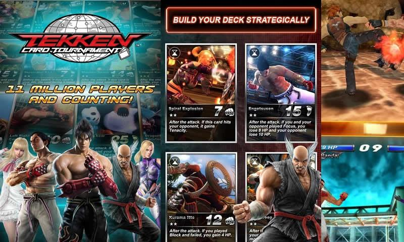 How To Play Tekken Card Tournament (CCG) on Laptop Computer or Windows Tablet