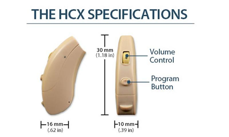 The All New HCX Digital Hearing Aid Technology
