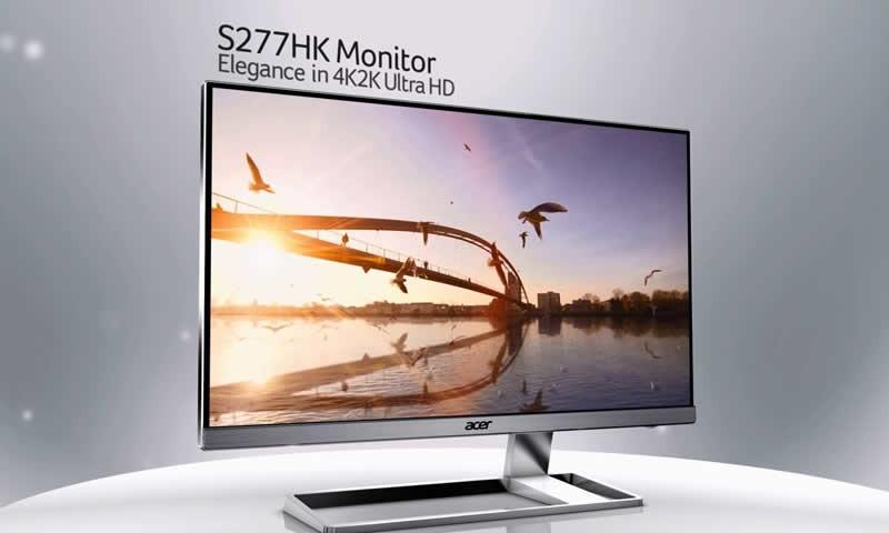Acer S277HK 4K Monitor Reviews
