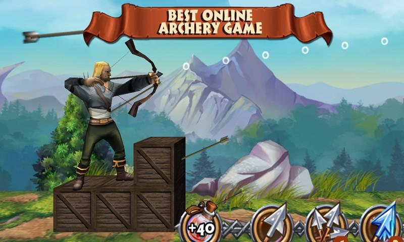 How To Play Archers Clash Multiplayer Game on Laptop Computer or Windows Tablet