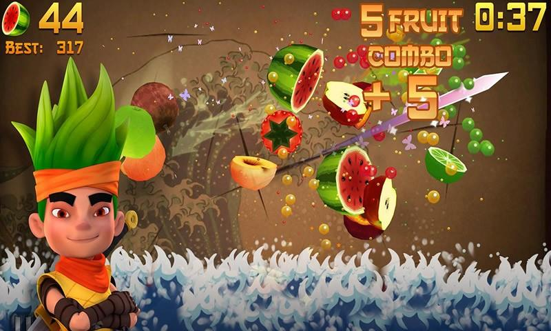 How To Play Fruit Ninja Free on Laptop Computer or Windows Tablet