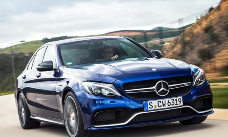 Mercedes AMG's New C63S Has More Torque