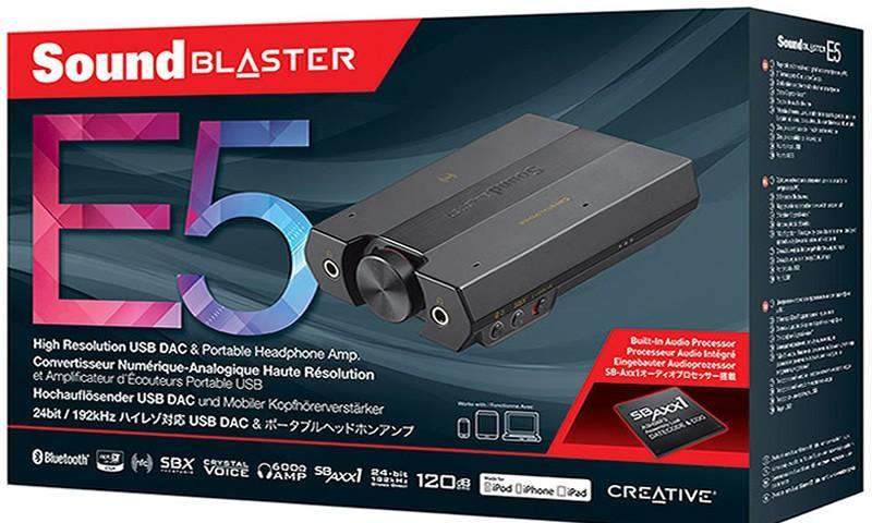 Sound Blaster E5 Reviews
