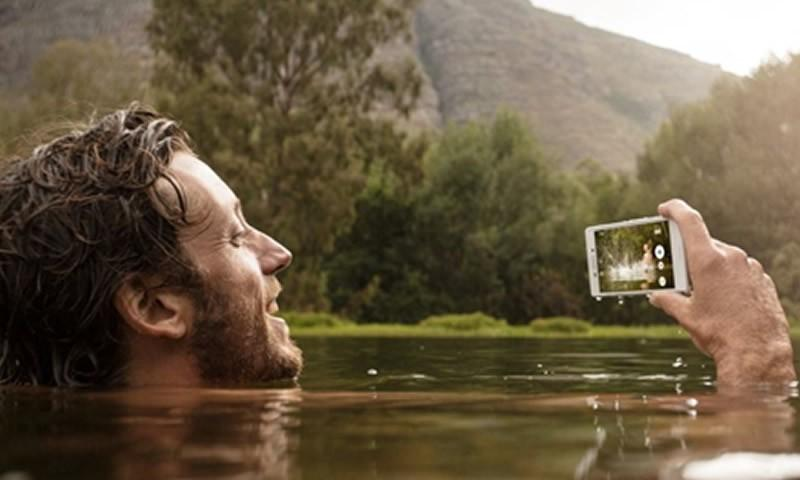 Take Selfies Underwater With The Sony