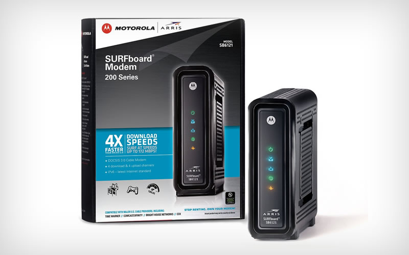 Don't Buy ARRIS / Motorola SurfBoard SB6121 DOCSIS 3.0 Until You Read This Review