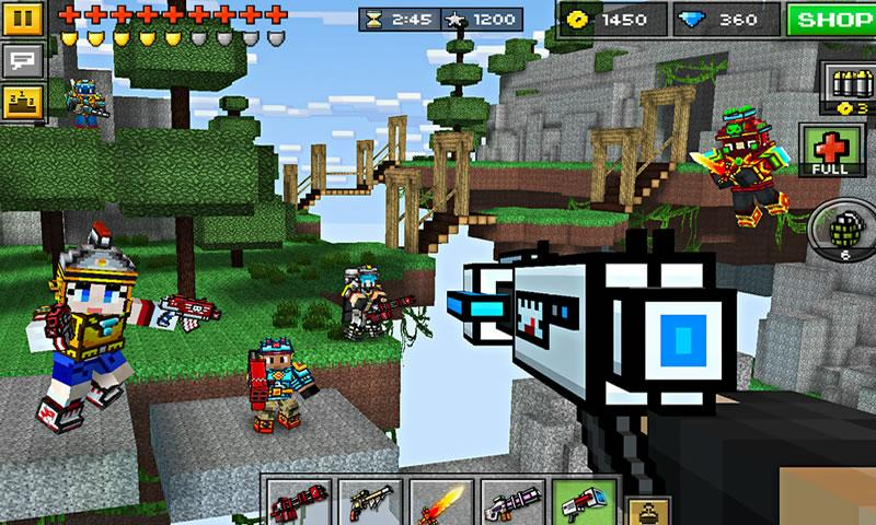 How To Play Pixel Gun 3D on Laptop Computer or Windows Tablet