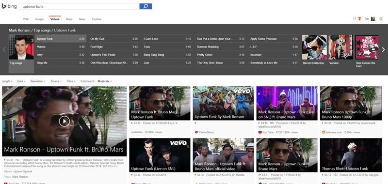 Microsoft's Bing Video Search Boosted