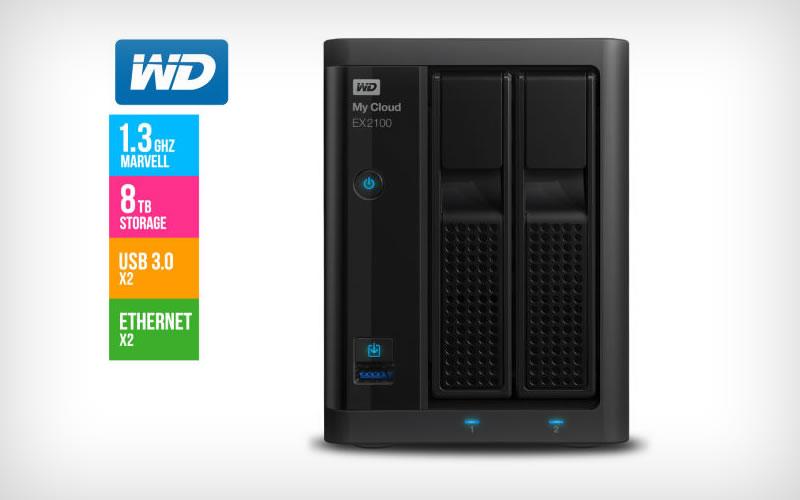 WD My Cloud EX2100 8TB Reviews