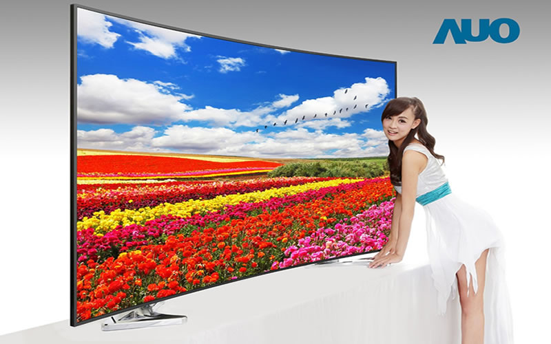 AUO or AU Optronics Reveals Ultra-high-definition Television Screen