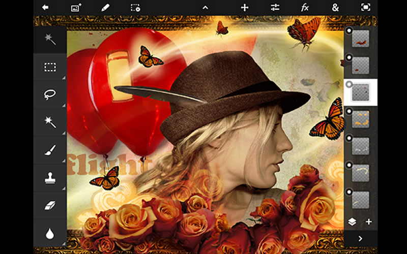 Adobe Photoshop on Mobile Devices