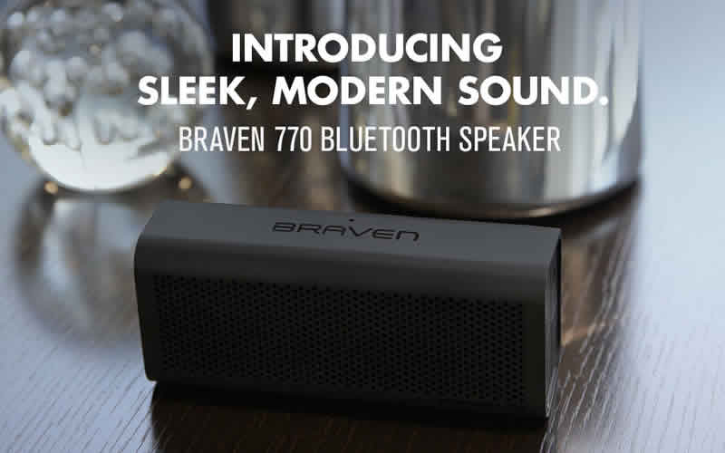 BRAVEN 770 Wireless Bluetooth Speaker Best Deals and Reviews