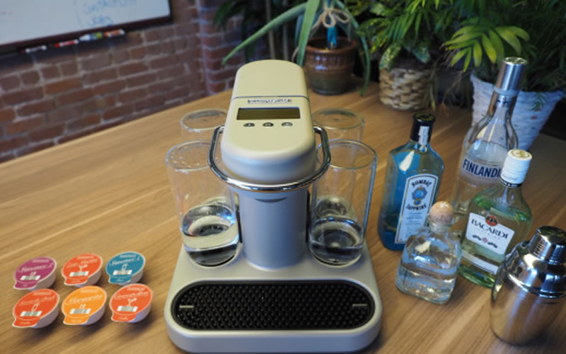 Bartesian: the first invented cocktail machine