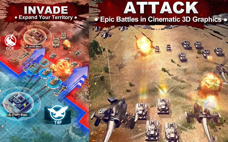 How To Play Invasion: Online War Game on Laptop Computer or Windows Tablet