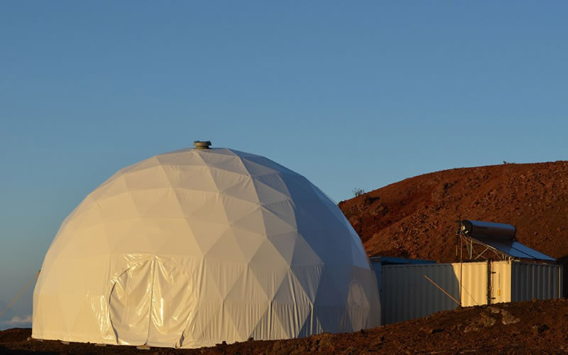 NASA simulates Mars mission on Earth