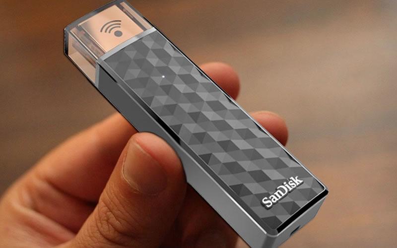Sandisk Wireless Flash Drive Mobile Phone Storage