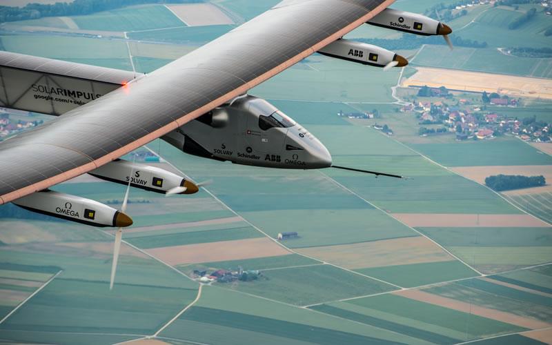 Solar Impulse 2 - A Completely Solar Powered Plane