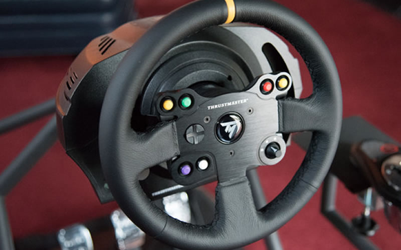 Thrustmaster Leather 28 GT Wheel Reviews