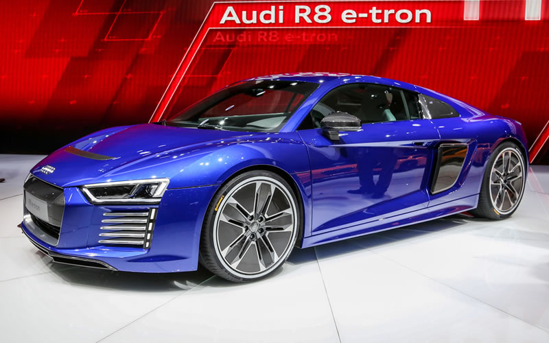 Audi R8 e-Tron – Self Driving Cars Have Never Been Sexier