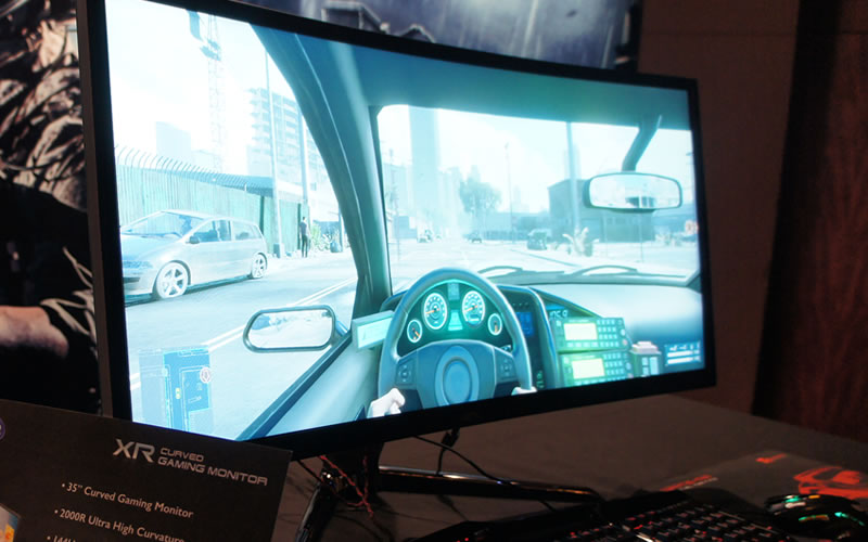 BenQ XR3501 Gaming Monitor Reviews