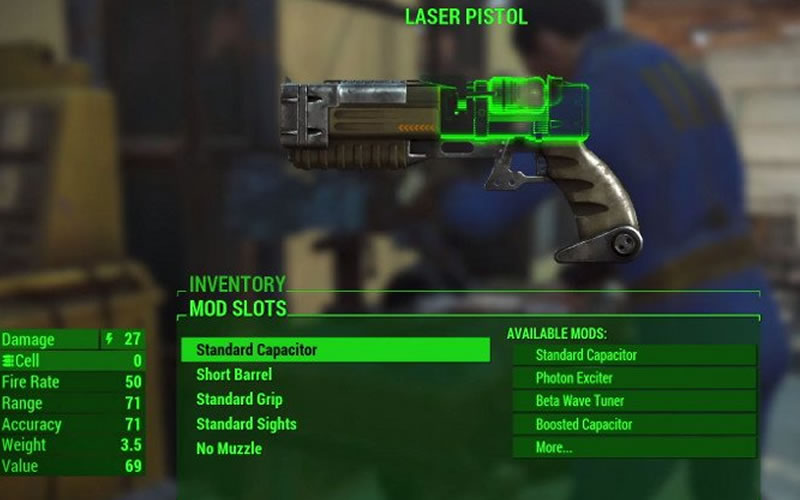 Bethesda's Fallout 4 Has Lots of Junk... To Build Weapons With