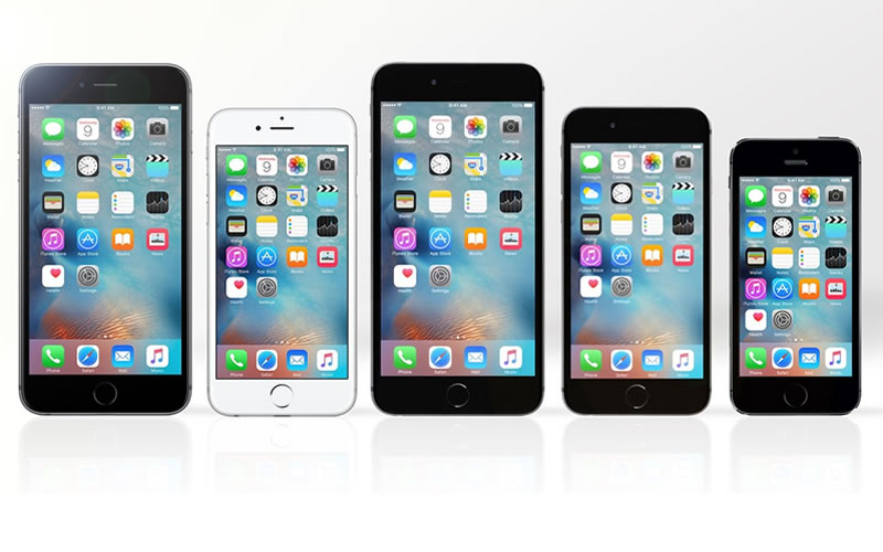 Comparing Five of the Latest iPhones