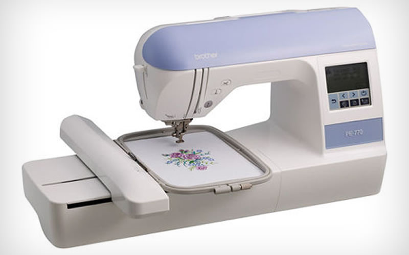 Create Masterfully Done Embroidered Crafts With the Brother PE-770 Embroidery Machine