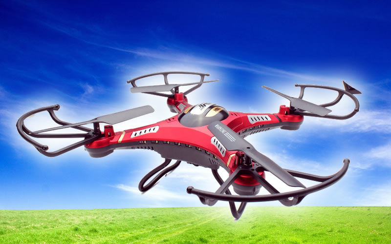 FPV JJRC Red H8D 6-Axis Gyro RC RTF Quadcopter Drone 5.8G with HD Camera and Monitor Reviews