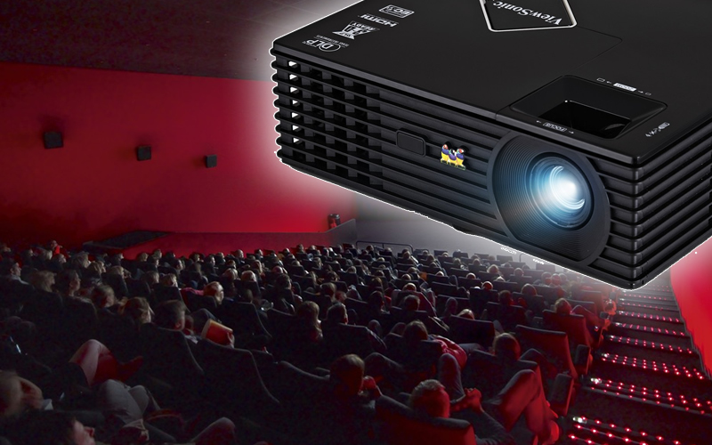 Filter-Less ViewSonic PJD5134 SVGA DLP Projector Offers Maintenance-Free Movie Experience