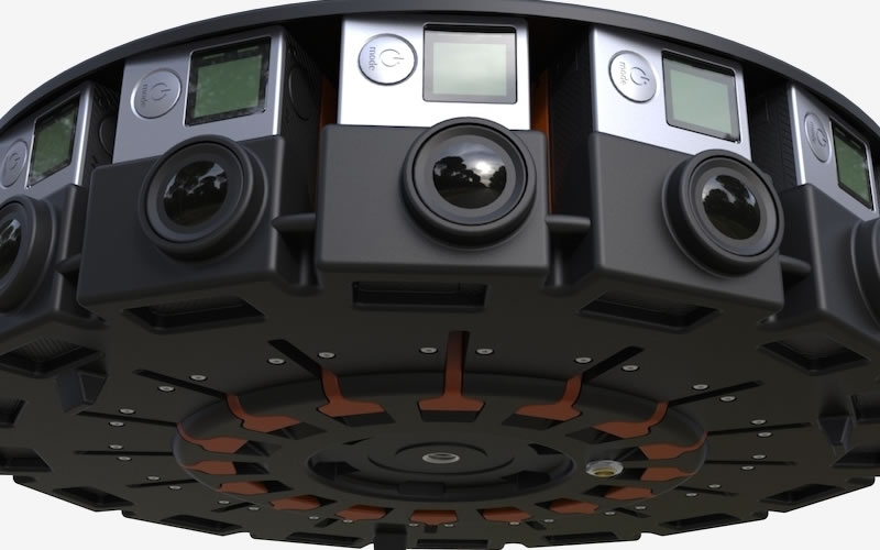 Google Jump Uses a 16-camera Rig From GoPro