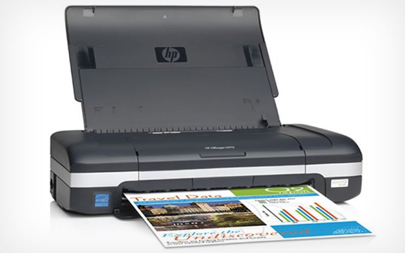HP OfficeJet H470 Mobile Printer Allows Printing on the Go