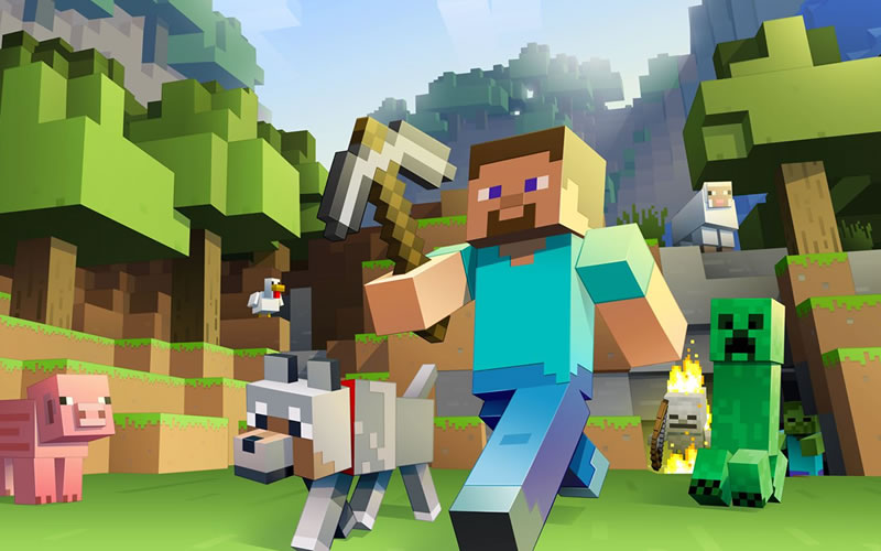 Hugely Popular Game Minecraft Sends Its Story Mode to Consoles and Phones This October
