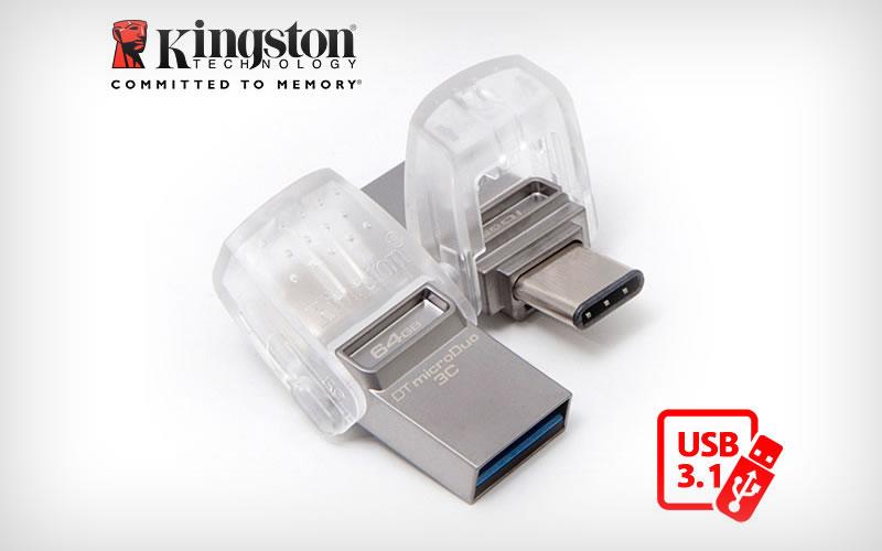 Kingston DataTraveler microDuo 3C Storage Reviews