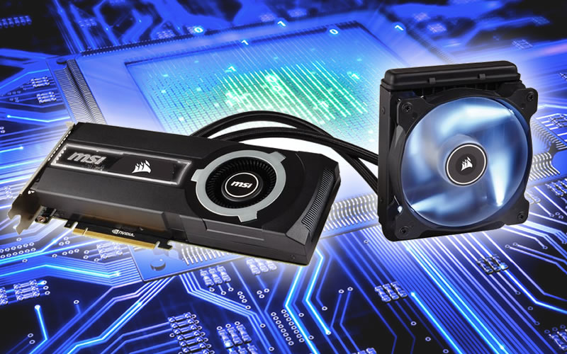 MSI and Corsair Bands Together to Create the GTX 980 Ti