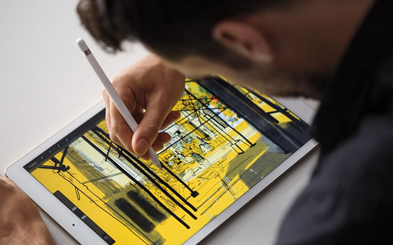 New Apple iPad Pro Adds Size and a Pencil