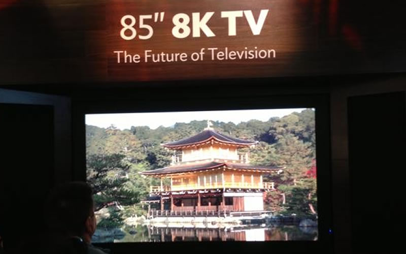 Sharp is About to Launch the World's First 8K Resolution TV