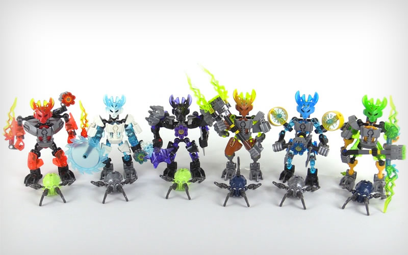 Slicing Into the Scene Comes LEGO's New Bionicle Sets