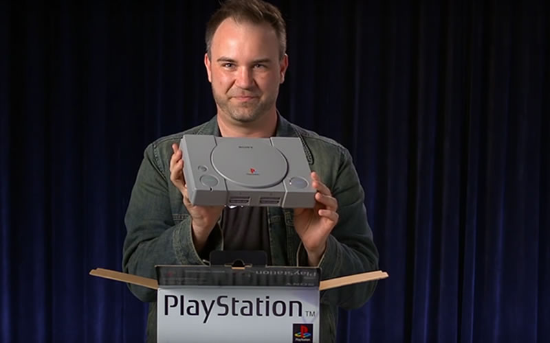 Sony Celebrates 20 Years of Play With Unboxing of PlayStation 1